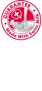 GUARANTEE - Made with Swiss Milk logo 2